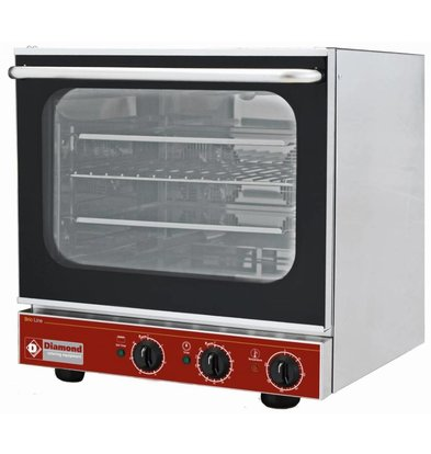 Diamond Convection Oven - 560x585x570 (h) mm - For 4x 433x333 mm + Salamander