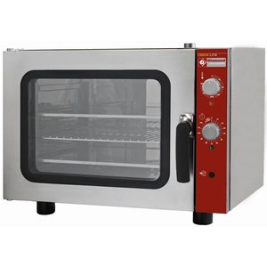 Diamond Convection oven with Steam function - 660x685xh560 (h) mm - for 4x 433x333 mm