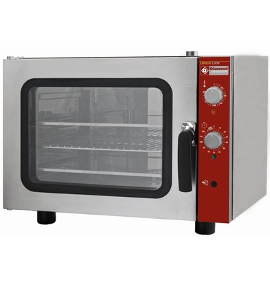 Diamond Hot air oven with steam function - 660x685xh560 (h) mm - for 4x 433x333 mm
