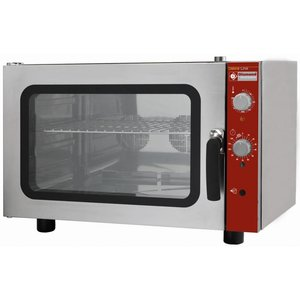 Diamond Hot air oven with steam function - 825x685x560 (h) mm - for 4 x 600x400 mm
