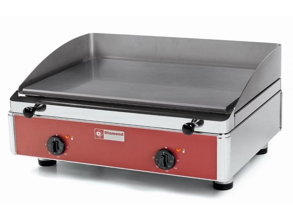Diamond Electric griddle - smooth - 60x53x (h) 30cm - 4kW
