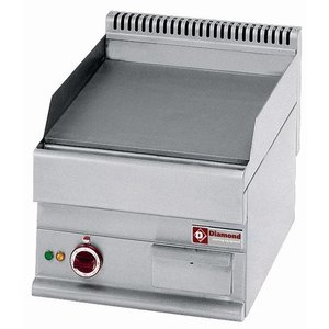Diamond Bakplaat Elektrisch - Glad Tafelmodel - 395x520mm - 400V/4kW
