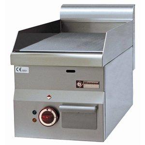 Diamond Bakplaat Elektrisch - Glad - 30x60x(h)280/400cm - 3kW