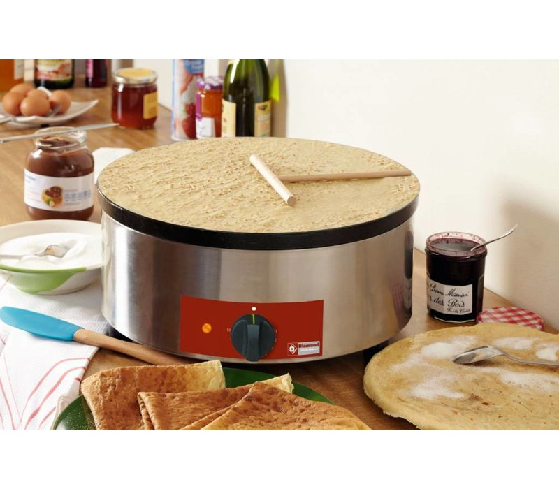 Diamond Crepe Maker Professional | Single | Electrical | 3600W / 230V | 40 cm Durchmesser