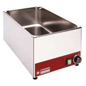 Diamond Bain Marie | Stainless steel | 1/1 GN | Tabletop | 330x530x (H) 240mm