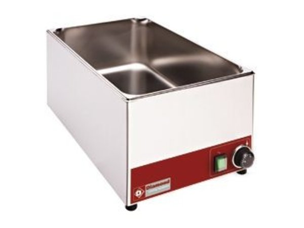 Diamond Bain Marie   Stainless steel   1/1 GN   Tabletop   330x530x (H) 240mm