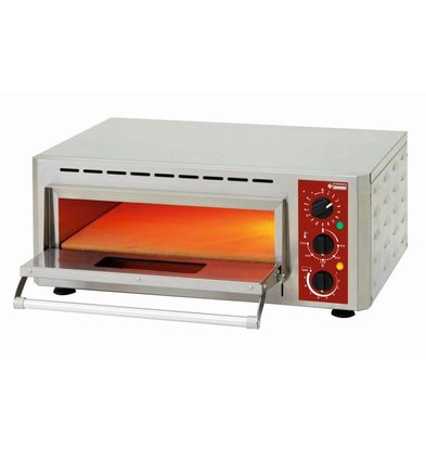 Diamond Pizzaofen Elektroeinzel | Pizza Ø430mm | 3kW | 670x580x (H) 270mm