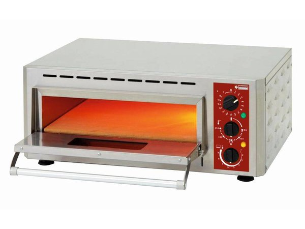 Diamond Pizza Oven Electric Single | Pizza Ø430mm | 3kW | 670x580x (H) 270mm