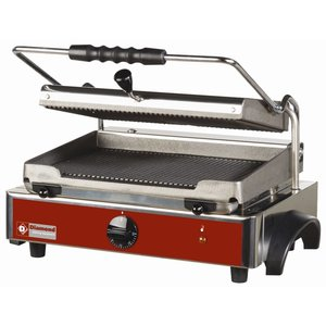 Diamond Contact Grill Panini - Ribbed / Ribbed - 435x430x (H) 240mm - 3KW