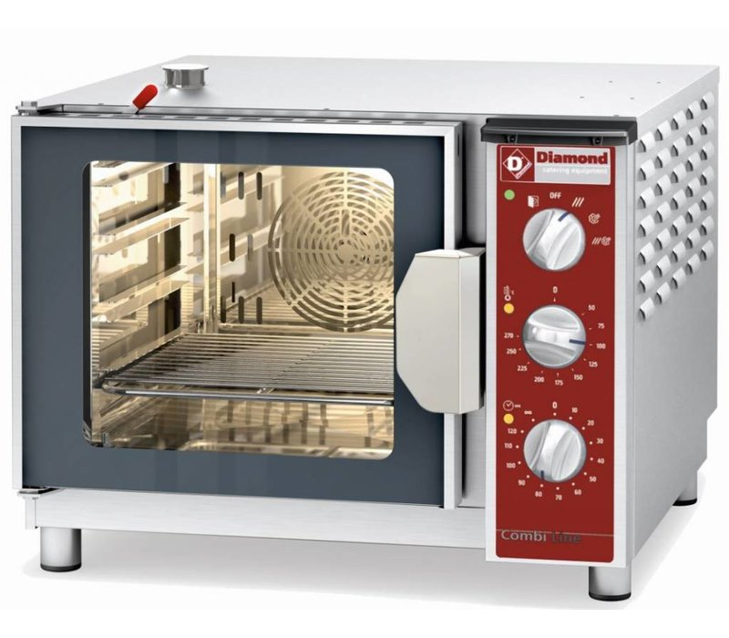 Diamond Convection Oven with Steam Combined - 600x666x480 (h) mm - 4x 2/3 GN