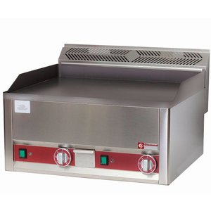 Diamond Double Electric smooth griddle - 66x60x (h) 29cm - 6kW