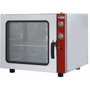 Diamond Convection oven with Steam function - 825x710x710 (h) mm - for 6 x 1/1 GN