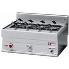 Diamond Nudelkocher Elektro Edelstahl 40 Liter | Tischplatte | 400V | 9kW | 700x650x (H) 280 / 380mm
