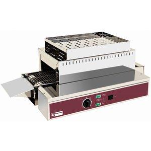 Diamond Doorloop Toaster 1080 toasts PRO XXL - verstelbare poten - 75x43,5x(H)26/32 - 3000W