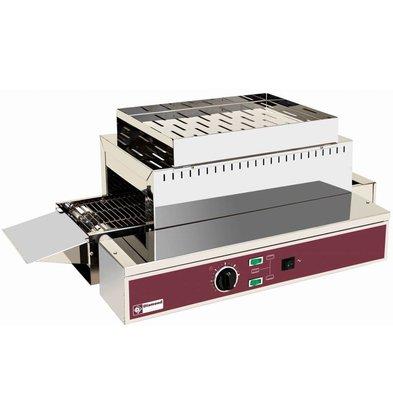 Diamond Go through Toaster toasts 1080 PRO XXL - adjustable legs - 75x43,5x (H) 26/32 - 3000W