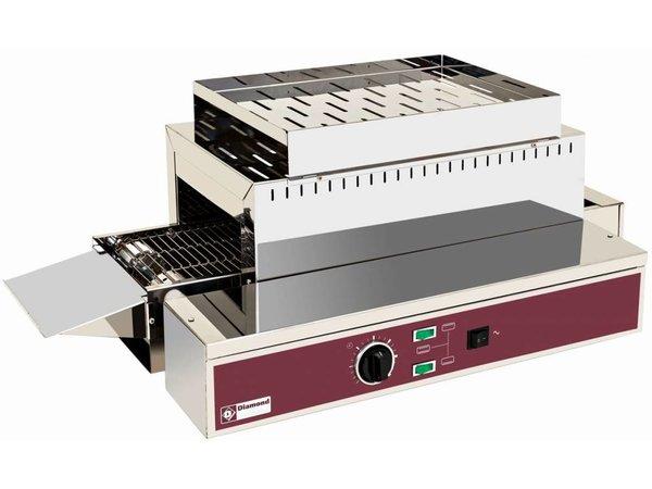 Diamond Gehen Sie durch Toaster Toast 1080 PRO XXL - Höhenverstellbare Füße - 75x43,5x (H) 26/32 - 3000W