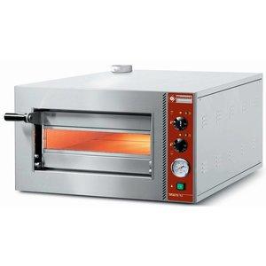 Diamond Pizza Oven | Pizza 42cm | Single | 2,3kW | 702x564x (H) 385mm
