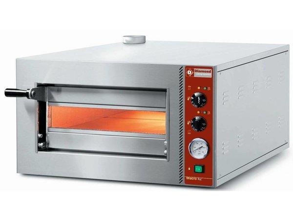 Diamond Pizzaofen | Pizza 42cm | gerade | 2,3kW | 702x564x (H) 385mm