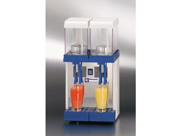Diamond Gekühlte Getränke Dispenser 2 x 9-Liter-
