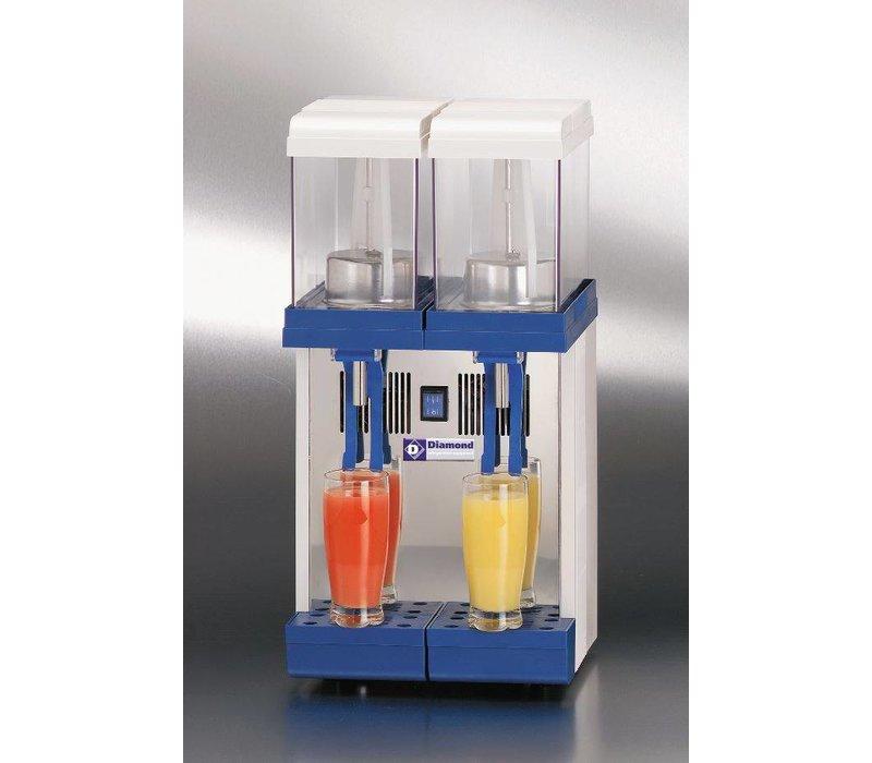 Diamond Gekoelde Dranken Dispenser 2 x 9 Liter