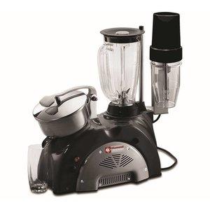 Diamond Combi Juicer Mixer - 1,5 Liter - Inc. Bar Blender - Schwarz / Grau