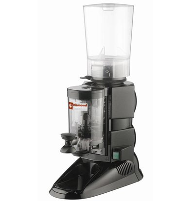 Diamond Coffee grinder with doser | 0,5kW | 270x460x (H) 630mm