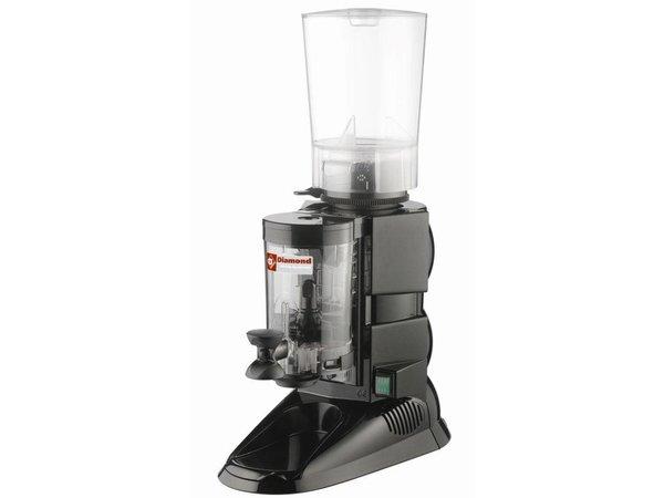 Diamond Koffiemolen met Doseerder | 0,5kW | 270x460x(H)630mm