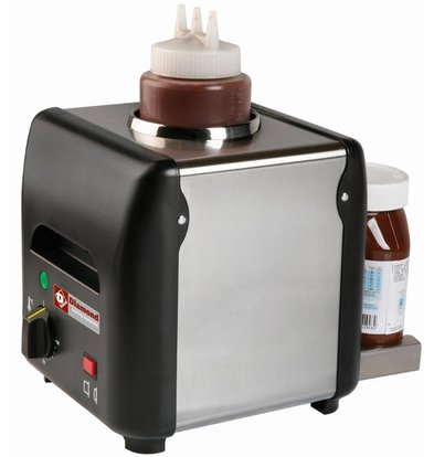Diamond Chocolade saus verwarmer | 1 liter | 225x175x(h)220mm - 170W