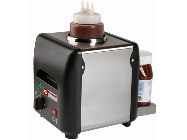 Diamond Chocolade saus verwarmer   1 liter   225x175x(h)220mm - 170W