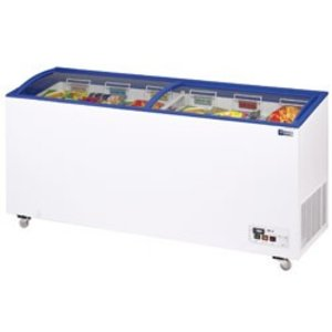 Diamond Freezer - Shutter Glass | -15 ° to -23 ° - 290 Liter - 110x60x (h) 73 / 89cm