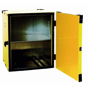 Diamond Hot Box Pizza | Aluminium | Equipped with a tussenrek | Yellow