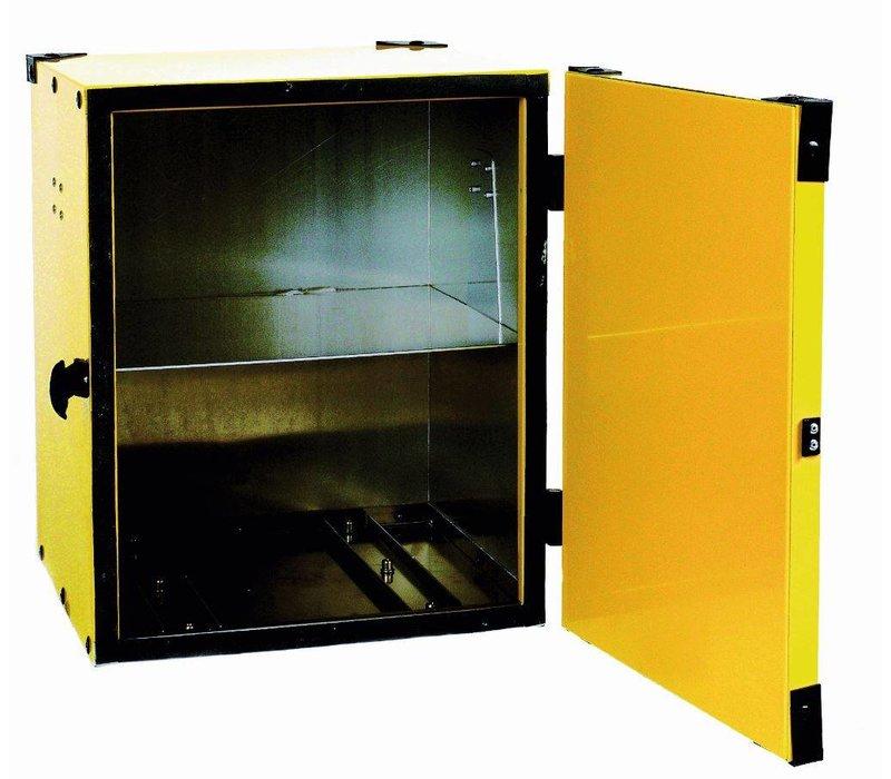 Diamond Hot Box Pizza | Aluminium | Equipped with a tussenrek | Yellow