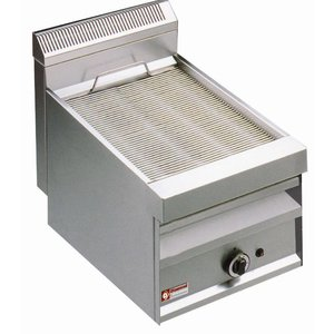 Diamond Steam Gas Grill - Tabletop - 380x470 - 42x70x (h) 44cm
