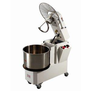 Diamond Spiral kneading machine 33 liters - Adjustable Speed