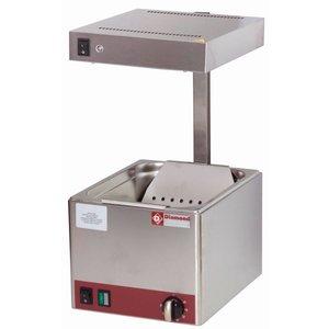Diamond Frites Wärmegerät - Infrarot - 1 / 2GN - 270x330x (H) 500 mm