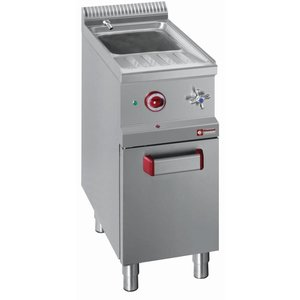 Diamond Pastakoker Gas RVS | 26 Liter | 1/1GN | Onderbouw | 400x700x(H)850/1000mm