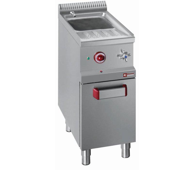 Diamond Pasta Cooker Gas RVS   26 Liter   1 / 1GN   Substructure   400x700x (H) 850 / 1000mm