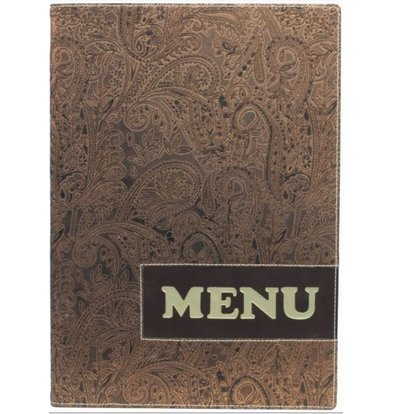 Securit Design menu folder - Paisley A4