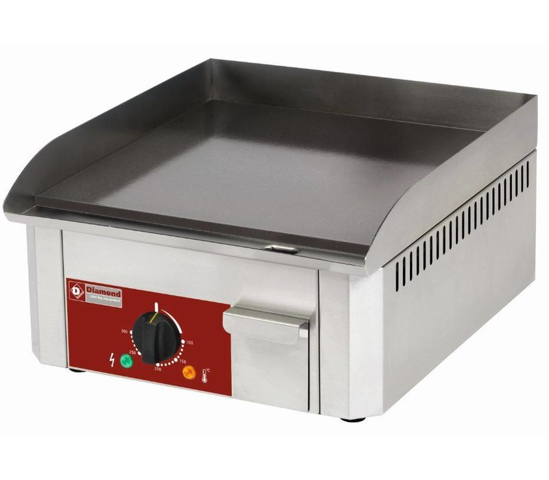 Diamond Bakplaat Gas Vlak - 40x45x(H)19cm - Geemailleerd - 3 Kw