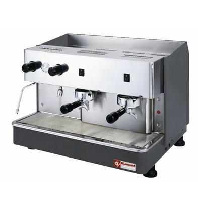 Diamond Espresso machine 2 groups Automatic | 2,9kW | 650x530x (H) 430mm