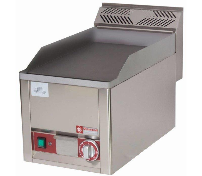 Diamond Bakplaat elektrisch - Glad - 33x60x(h)29cm - 3kW