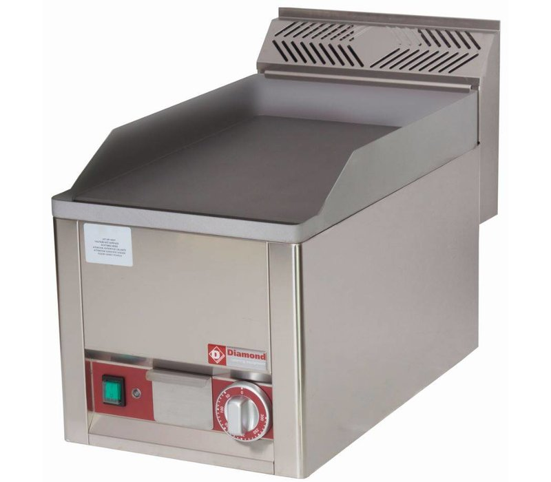 Diamond Elektrische Herdplatte - glatt - 33x60x (h) 29cm - 3kW