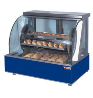Diamond Chicken Grill Electric Tabletop - Rotating with four baskets - 940x590x (h) 790mm - 5.4KW