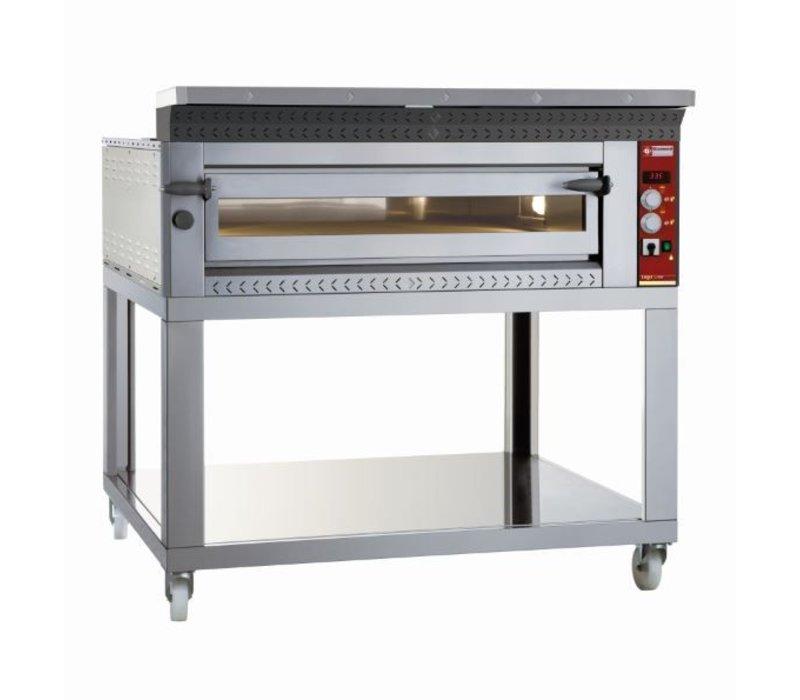 Diamond Pizza Oven Elektrisch | 6 Pizza's Ø35cm | 8,8kW | 1070x1360x(H)400mm