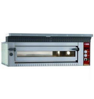 Diamond Pizza Oven Elektrisch | 9 Pizza's Ø35cm | 13,3kW | 1420x1360x(H)400mm