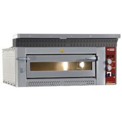Diamond Pizza Oven Elektrisch | 4 Pizza's Ø35cm | 6,6kW | 1070x1010x(H)400mm