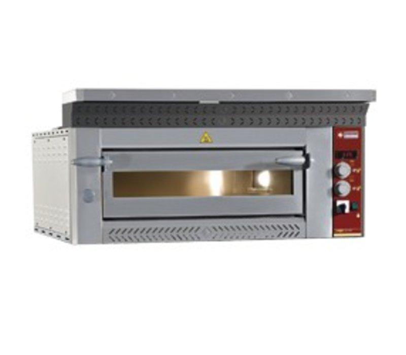 Diamond Pizza Oven Electric | 4 pizzas Ø35cm | 6,6kW | 1070x1010x (H) 400mm