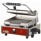 Diamond Panini Grill Electric corrugated plates - PRO 33x43,5x (h) 24 - 1800W