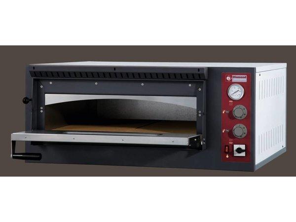 Diamond Pizzaofen Elektroeinzel | 4 Pizzen Ø33cm | 980x930x (H) 420mm