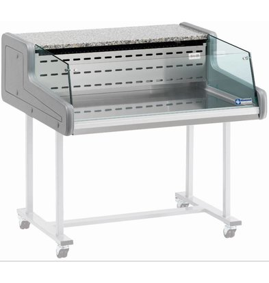 Diamond Vitrine Toonbank | Gekoeld  +4° / +6 C° | Self-Service | 1500x930x(H)346mm
